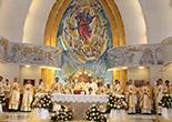 Transmisiune live categrala Sf. Fecioară Maria, Regină